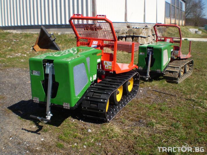 Машини за дърводобив Горски трактор за извоз на дървесина MK18 железен кон 0