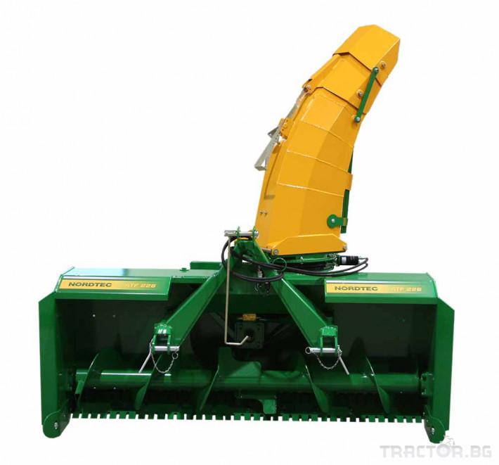 Техника за почистване Роторен снегорин за трактор 4 - Трактор БГ