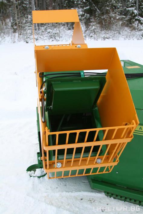 Техника за почистване Роторен снегорин за трактор 10 - Трактор БГ