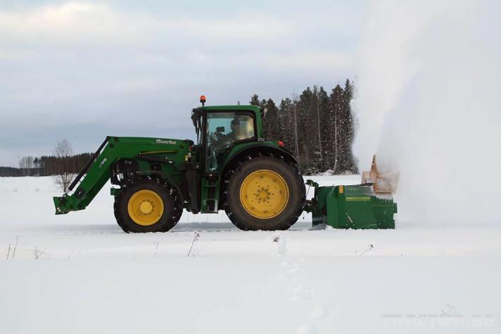 Техника за почистване Роторен снегорин за трактор 11 - Трактор БГ