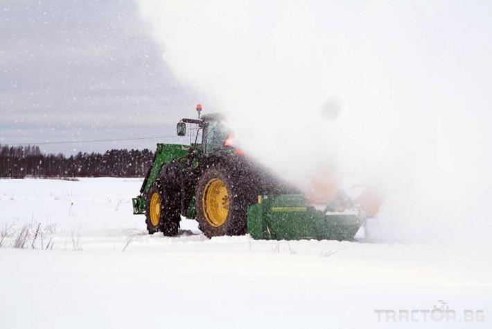 Техника за почистване Роторен снегорин за трактор 12 - Трактор БГ