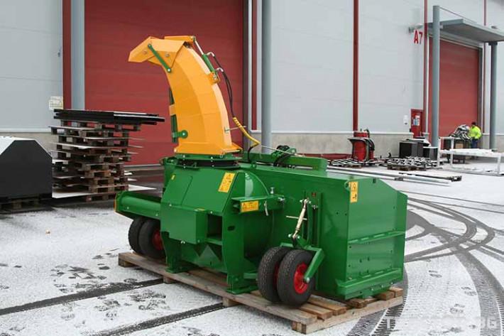 Техника за почистване Роторен снегорин за трактор 17 - Трактор БГ