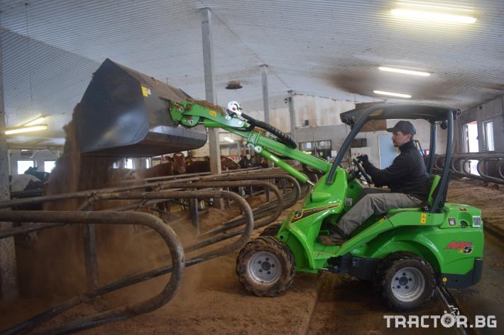 Телескопични товарачи Електрически мини челен товарач AVANТ e6 0 - Трактор БГ