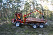 BISON KRANMAN горски мини транспортьор - горски трактор