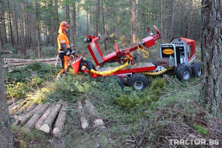 Машини за дърводобив Kranman P25 самоходен процесор за изкастряне на иглолистна целулоза 3 - Трактор БГ