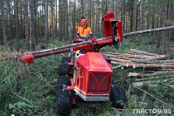 Машини за дърводобив Kranman P25 самоходен процесор за изкастряне на иглолистна целулоза 5 - Трактор БГ