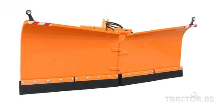 Техника за почистване Снегорин за трактор и камион /DIN плоча 38 - Трактор БГ