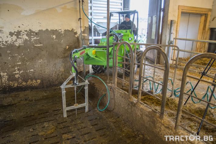 Телескопични товарачи Мини челен товарач AVANT 528 Optidrive 24 - Трактор БГ