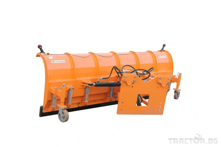 Техника за почистване Снегорин за трактор и камион /DIN плоча 37 - Трактор БГ