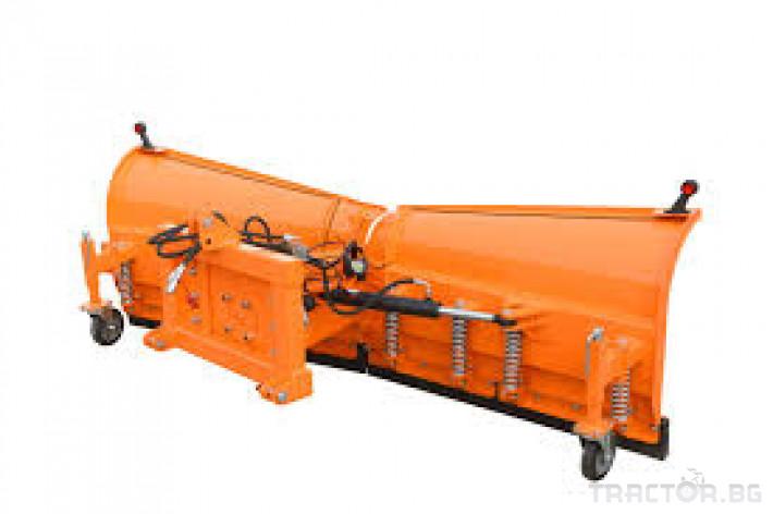 Техника за почистване Снегорин за трактор и камион /DIN плоча 40 - Трактор БГ