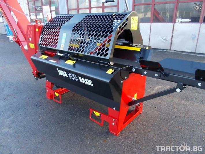 Машини за дърводобив JAPA 365 BASIC нов модел! машина за рязане и цепене 7 - Трактор БГ