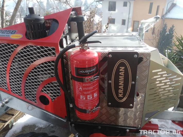 Машини за дърводобив Kranman P25 самоходен процесор за изкастряне на иглолистна целулоза 4 - Трактор БГ
