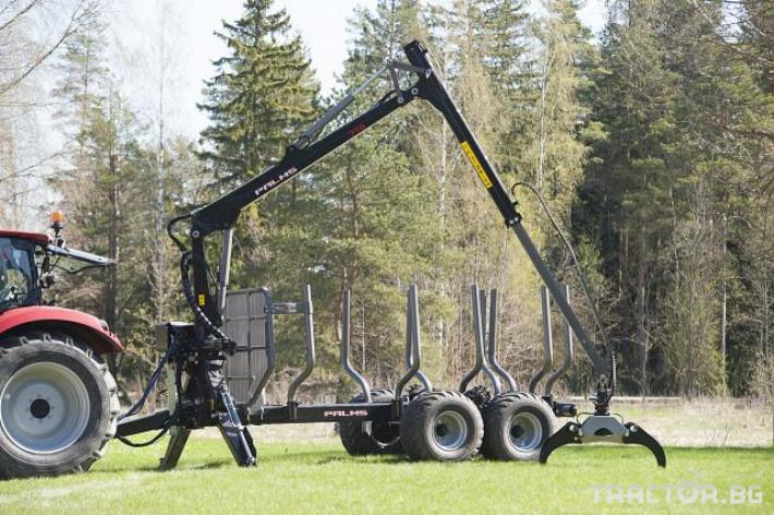 Машини за дърводобив Кран за дърва PALMS за трактор 27 - Трактор БГ