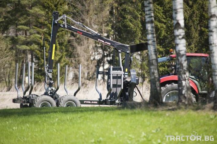 Машини за дърводобив Кран за дърва PALMS за трактор 28 - Трактор БГ