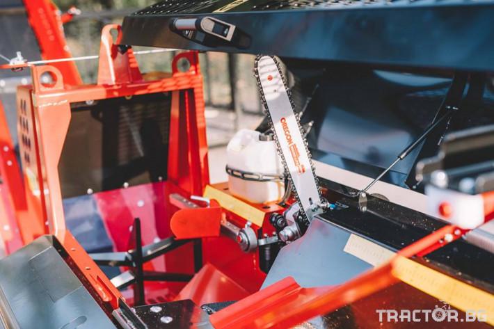 Машини за дърводобив JAPA мобилни машини за рязане и цепене на дърва 3 - Трактор БГ
