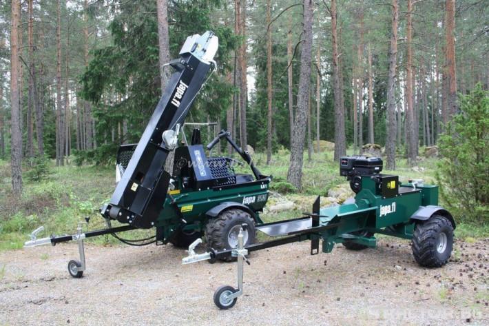 Машини за дърводобив JAPA мобилни машини за рязане и цепене на дърва 5 - Трактор БГ