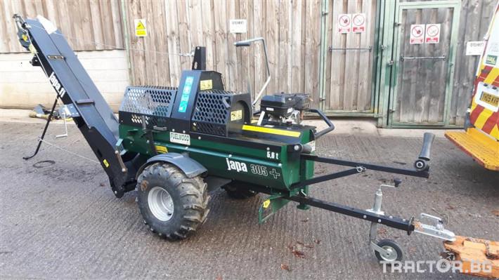 Машини за дърводобив JAPA мобилни машини за рязане и цепене на дърва 0 - Трактор БГ