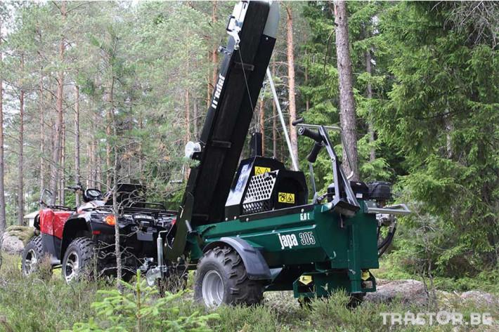 Машини за дърводобив JAPA мобилни машини за рязане и цепене на дърва 6 - Трактор БГ