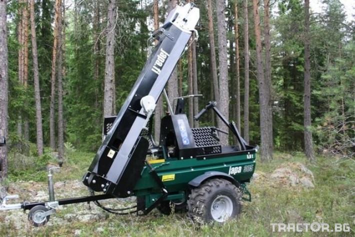 Машини за дърводобив JAPA мобилни машини за рязане и цепене на дърва 7 - Трактор БГ