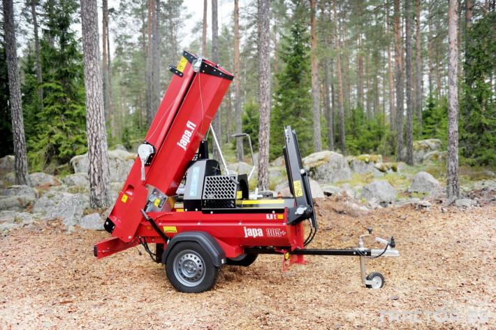 Машини за дърводобив JAPA мобилни машини за рязане и цепене на дърва 8 - Трактор БГ