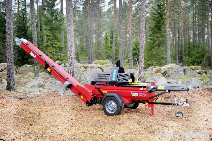 Машини за дърводобив JAPA мобилни машини за рязане и цепене на дърва 9 - Трактор БГ