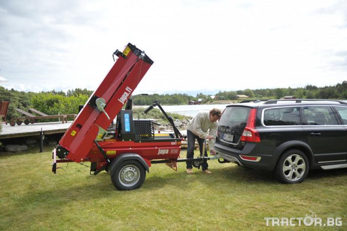 Машини за дърводобив JAPA мобилни машини за рязане и цепене на дърва 11 - Трактор БГ