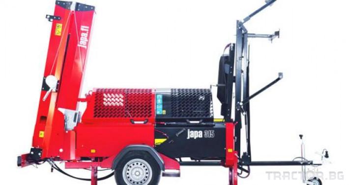 Машини за дърводобив JAPA мобилни машини за рязане и цепене на дърва 12 - Трактор БГ