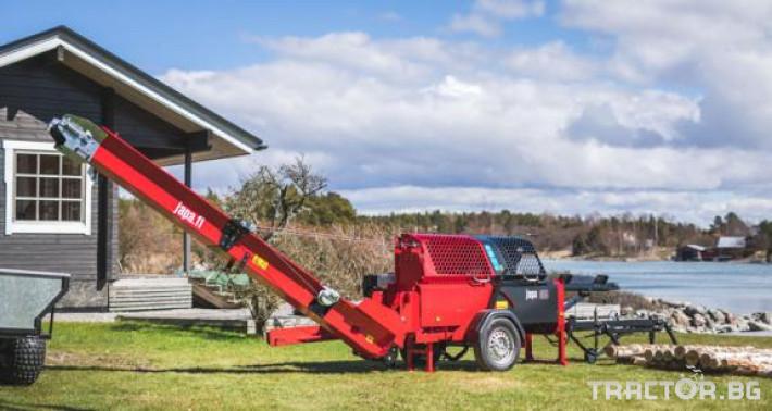 Машини за дърводобив JAPA мобилни машини за рязане и цепене на дърва 13 - Трактор БГ