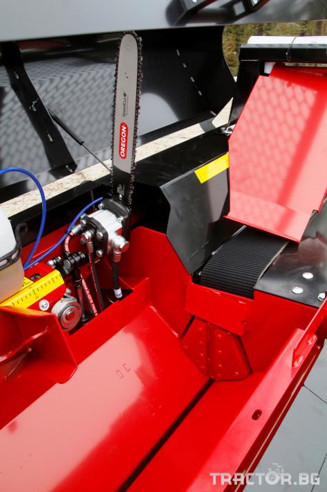 Машини за дърводобив JAPA 365 PRO мобилна машина за рязане и цепене на дърва 1 - Трактор БГ