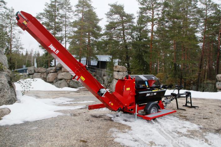 Машини за дърводобив JAPA 365 PRO мобилна машина за рязане и цепене на дърва 3 - Трактор БГ