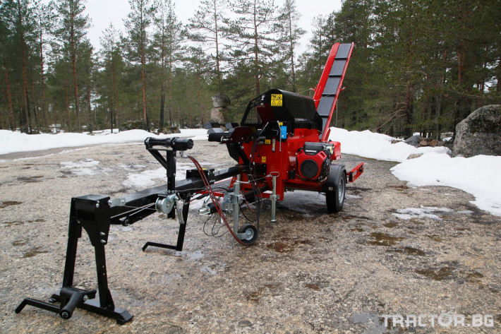 Машини за дърводобив JAPA 365 PRO мобилна машина за рязане и цепене на дърва 5 - Трактор БГ