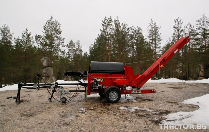 Машини за дърводобив JAPA 365 PRO мобилна машина за рязане и цепене на дърва 6 - Трактор БГ