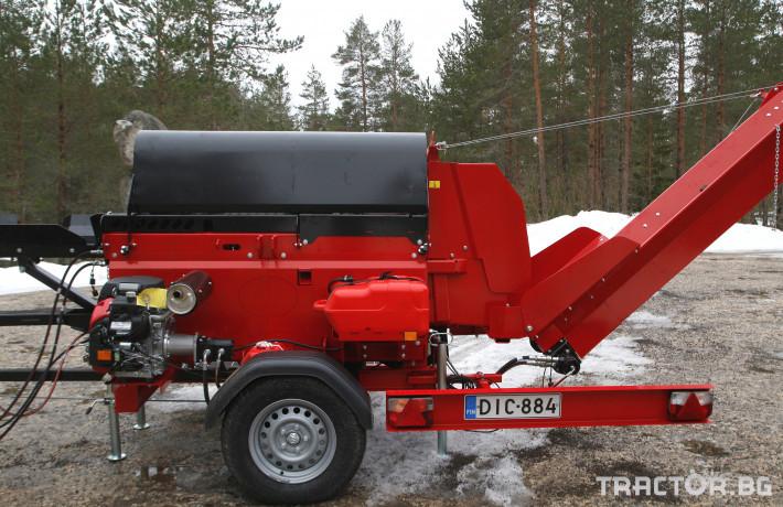 Машини за дърводобив JAPA 365 PRO мобилна машина за рязане и цепене на дърва 7 - Трактор БГ
