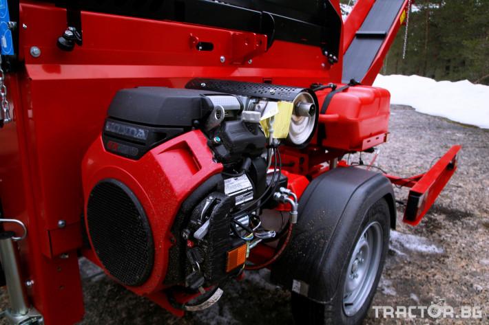Машини за дърводобив JAPA 365 PRO мобилна машина за рязане и цепене на дърва 8 - Трактор БГ
