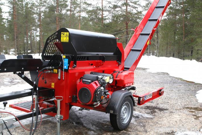 Машини за дърводобив JAPA 365 PRO мобилна машина за рязане и цепене на дърва 9 - Трактор БГ