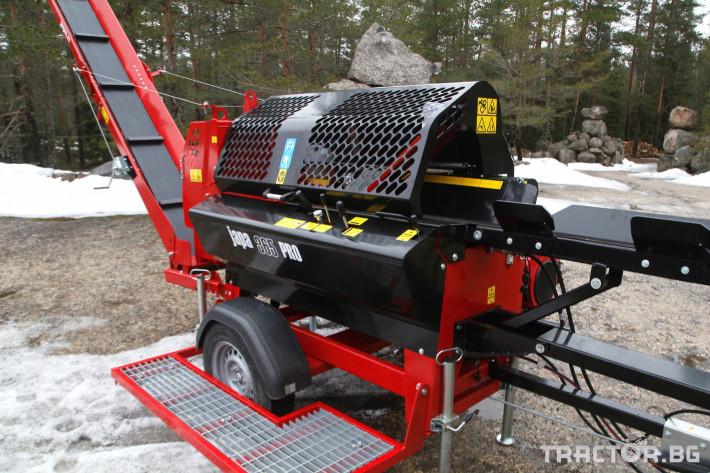 Машини за дърводобив JAPA 365 PRO мобилна машина за рязане и цепене на дърва 10 - Трактор БГ