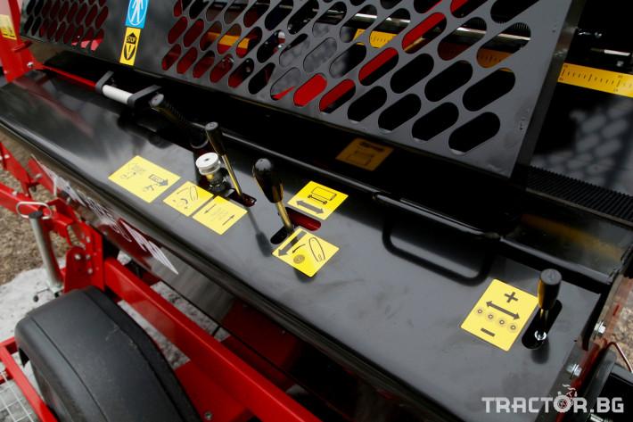 Машини за дърводобив JAPA 365 PRO мобилна машина за рязане и цепене на дърва 12 - Трактор БГ