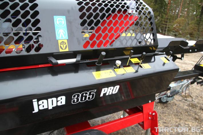 Машини за дърводобив JAPA 365 PRO мобилна машина за рязане и цепене на дърва 14 - Трактор БГ