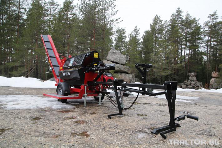 Машини за дърводобив JAPA 365 PRO мобилна машина за рязане и цепене на дърва 15 - Трактор БГ