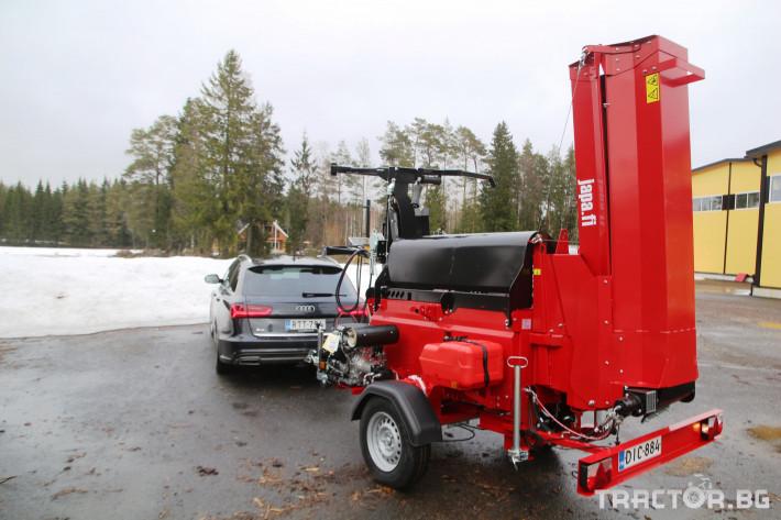 Машини за дърводобив JAPA 365 PRO мобилна машина за рязане и цепене на дърва 16 - Трактор БГ