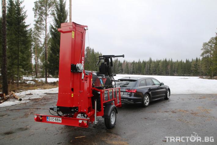Машини за дърводобив JAPA 365 PRO мобилна машина за рязане и цепене на дърва 17 - Трактор БГ