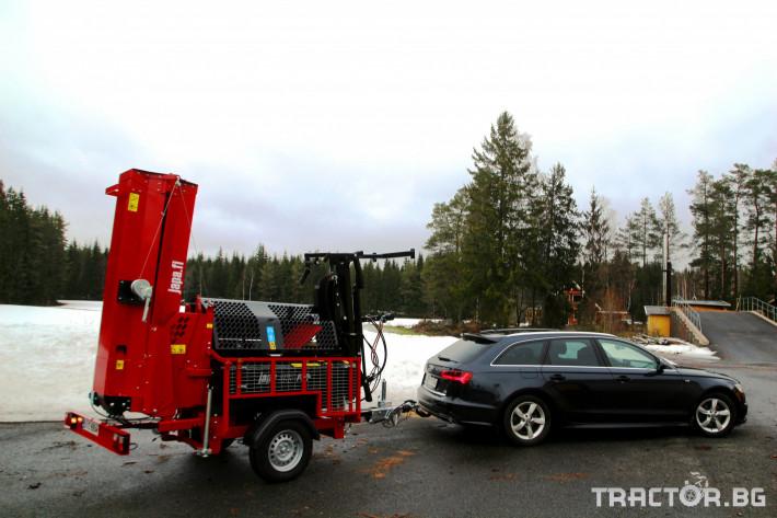 Машини за дърводобив JAPA 365 PRO мобилна машина за рязане и цепене на дърва 18 - Трактор БГ