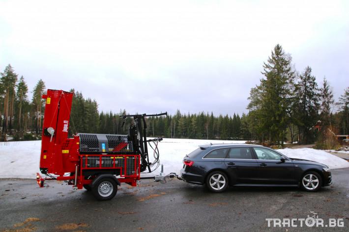 Машини за дърводобив JAPA 365 PRO мобилна машина за рязане и цепене на дърва 19 - Трактор БГ