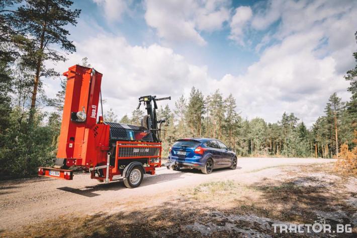 Машини за дърводобив JAPA 365 PRO мобилна машина за рязане и цепене на дърва 23 - Трактор БГ