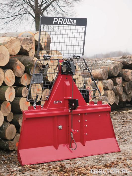Машини за дърводобив Горски лебедки FARMI и EiFo 0