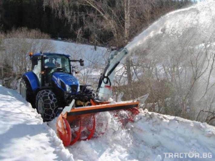 Техника за почистване Роторен снегорин за трактор 23 - Трактор БГ