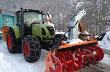 Роторен снегорин за трактор