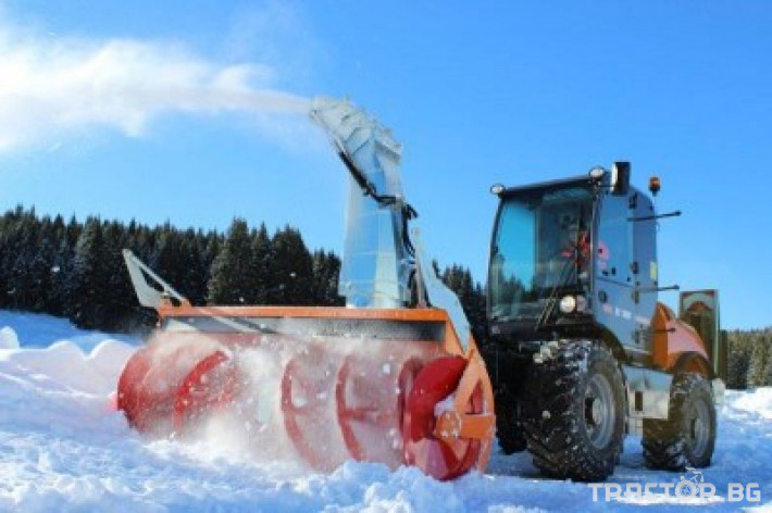 Техника за почистване Роторен снегорин за трактор 25 - Трактор БГ