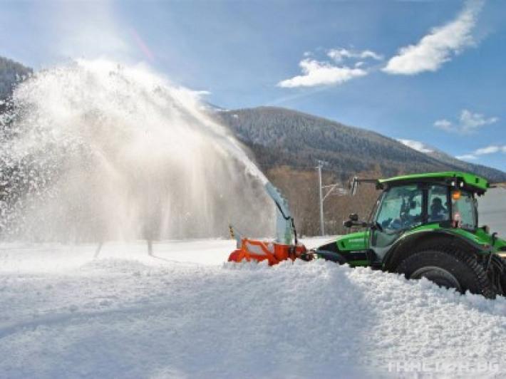 Техника за почистване Роторен снегорин за трактор 27 - Трактор БГ