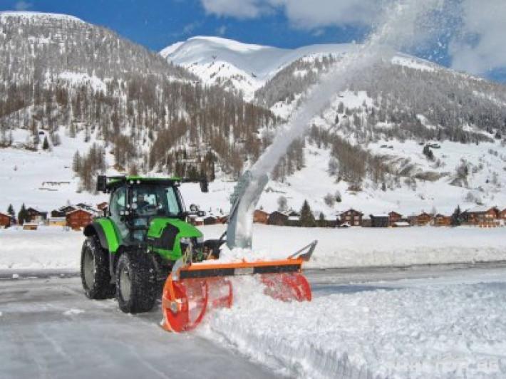 Техника за почистване Роторен снегорин за трактор 28 - Трактор БГ